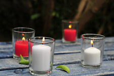 Set of 288 Clear Glass Votive Candle Holders.