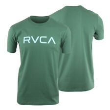 RVCA Big RVCA T-Shirt (Green/Sky Blue) - mma surf skate