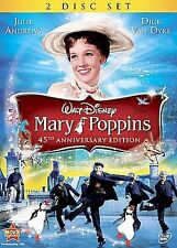 Mary Poppins (DVD, 2009, 2-Disc Set, 45th Anniversary Special Edition)  Disney