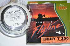 Jim Teeny T-Series Sinking Fly Lines: T-130, T-200, T-300, or T-400