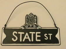 Marshall Fields State Street metal sign ornament