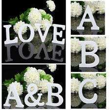 Wood Letters Alphabet Wedding Party Home Decoration Freestanding Wooden Ornament