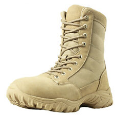 Brand New Wellco T109 US Army Desert Tan Hot Weather Side Zipper Combat Boot