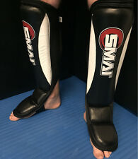 SHIN INSTEP GUARD MMA MARTIAL ARTS KICK BOXING MUAY THAI KARATE S M L XL HYBRID