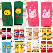 Crawling Baby Infants Leg Warmers Cartoon Children Warm Short Knee Pad Protector