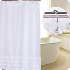 Shower Curtain Bathroom Waterproof Polyester Fabric 12 Hooks 72 Inch 13 Patterns