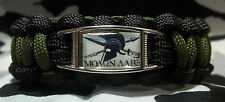 """MOLAN LABE """"Come & Take It"""" Gun Rights Paracord Bracelet with Buckle SPARTAN"""