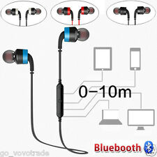 Wireless Sports Bluetooth 4.0 Earphone Noise Reduction Earbud Stereo Headphones