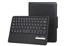 iPad Air 2 Removable Bluetooth Keyboard & Leather Case Cover Stand Sleep Wake