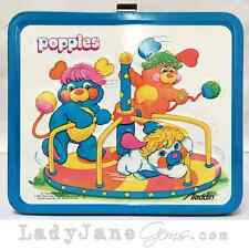 Pre-Loved Blue Popples Metal Lunch Box
