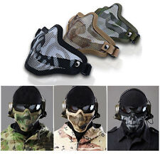 Strike Metal Mesh Mask Protective Mask Half Face Tactical Airsoft Military Mask