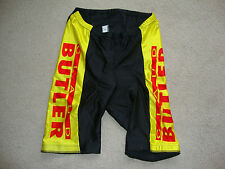 Mens Claud Butler Lycra Padded Cycling Shorts Size Large