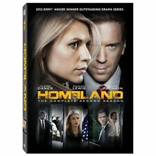 Homeland: The Complete Second Season (DVD, 2013, 4-Disc Set)
