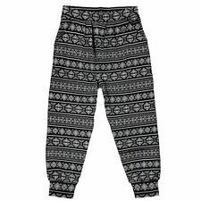 Lee Cooper Childrens Girls All Over Print Harem Pants Casual Trousers Bottoms