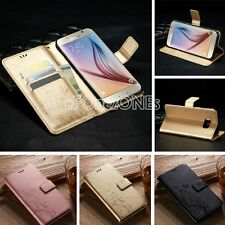 Retro Vintage Flip Stand Magnetic Wallet Leather Case Cover For Samsung Glalaxy