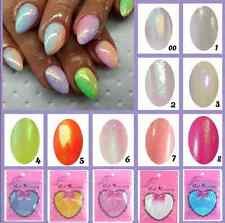 DIY Mermaid Effect Glitter Nail Art Powder Dust Magic Glimmer Trend Irridescent