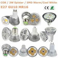 MR16 GU10 E27 15W/12W/9W/7W/5W/3W LED Bulb Lamp SMD/COB/Epistar/CREE Spot Lights