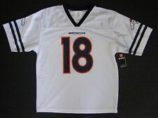 NFL Denver Broncos Peyton Manning #18 Youth White Performance Jersey