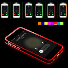 LED Flash Light UP Remind Incoming Phones Case Cover Skin For iphone4s/6s/6Plus