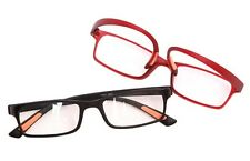RG9/7  Ultra-Lite Bendable TR90 Material 2016 Reading Glasses in Black or Red