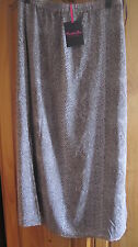 LADIES SKIRT -SIMPLY BE - SZ 12.LONG LINED SKIRT/SIDE SPLITS.NEW WITH TAGS