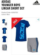 New With Tags Baby Boys Adidas T Shirt And Shorts Set 18-24 Months