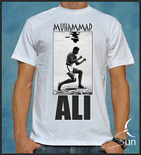T-SHIRT MUHAMMAD ALI BOXING BOXING IMPOSSIBLE IS NOTHING  VICTORY SIL Dbx001