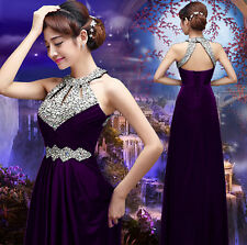 Sexy Long Chiffon Evening Formal Party Cocktail Dress Bridesmaid Prom Gowns