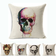 Linen Cotton Throw Pillow Case Square Cushion Cover Fashion Home Sofa Decor 18""