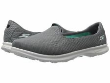 14311 Charcoal Gray Skechers Shoes Go Step Women's SlipOn Sport Comfort Walk New