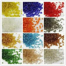 New Czech Glass Seed Spacer Beads 2000pcs 22 Colors  Jewelry Making DIY Pick 2mm