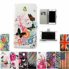 Magnetic Stand Flip PU Leather Phone Case Cover For Various Apple iPhone Models