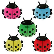 Adorable Soft Plush Throw Pillow Cushion Stuffed Coccinella Animal Toy