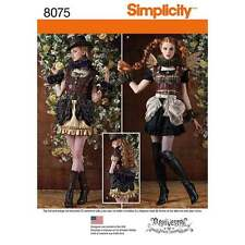 Simplicity Sewing Pattern 8075 Misses' Steampunk Costumes