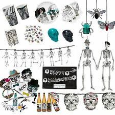Talking Tables Halloween Skeleton Skull Crew Party Partyware Napkins Cups Lot