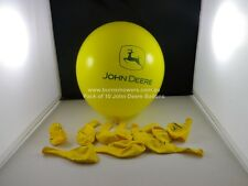 John Deere Ballons Yellow With John Deere Logo Pkt Of 10