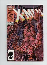 Uncanny X-Men #205 - Barry Smith Solo Wolverine Story - 1986 (Grade 8.5)