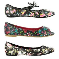 IRON FIST shoes women shoes BALLET FLATS Original New New FLAT Womens Punk ROCK