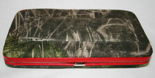 CAMOUFLAGE CLUTCH WALLET w/ CHECKBOOK COVER, CHOOSE COLOR