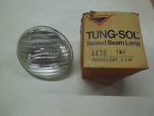 "TUNG-SOL SEALED BEAM #4478 CLEAR 12 VOLT 5 3/4"" DIAMETER LIGHT"