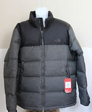 NWT The North Face Men's Nuptse 700 Goose Down Coat Jacket Black Ink Green 2XL