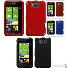 Snap On Hard Protector Case Cover For HTC X310a(TITAN) Solid Colors