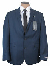 NEW Mens Kenneth Cole Blue Pinstripe Slim Fit Suit
