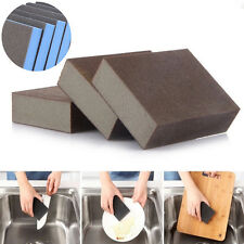 1Pc Magic Rust Sponge Eraser Cleaning Towel Wash Cloth Kitchen Dish Foam Cleaner