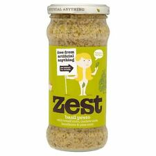 Zest - Basil Pesto Vegetarian | 340g - BIG Multipack Savings