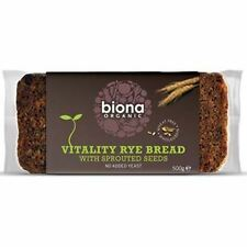 Biona - Org Sprout Mix Rye Bread | 500g - BIG Multipack Savings