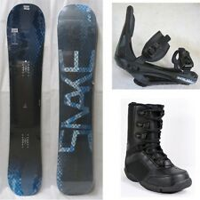 "NEW ""SNAKE"" SNOWBOARD, BINDINGS, BOOTS PACKAGE - 139cm, 148cm, 151cm"