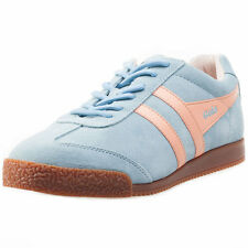 Gola Harrier Womens Trainers Blue Pink New Shoes