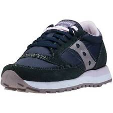 Saucony Jazz Original Womens Trainers Charcoal New Shoes