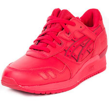 Asics Onitsuka Tiger Gellyte Iii Unisex Trainers Red New Shoes